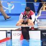 競泳10日目 決勝を泳ぐ成田真由美選手