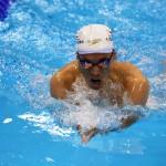 競泳10日目 決勝を泳ぐ津川拓也選手