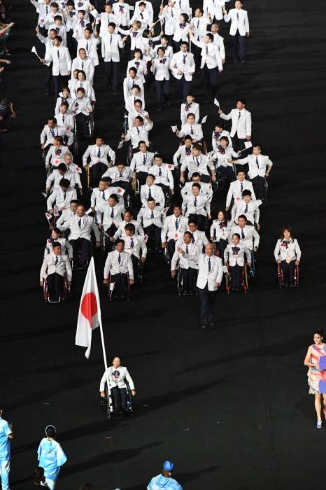 日本選手にも大きな声援が送られた 写真・西川隼矢