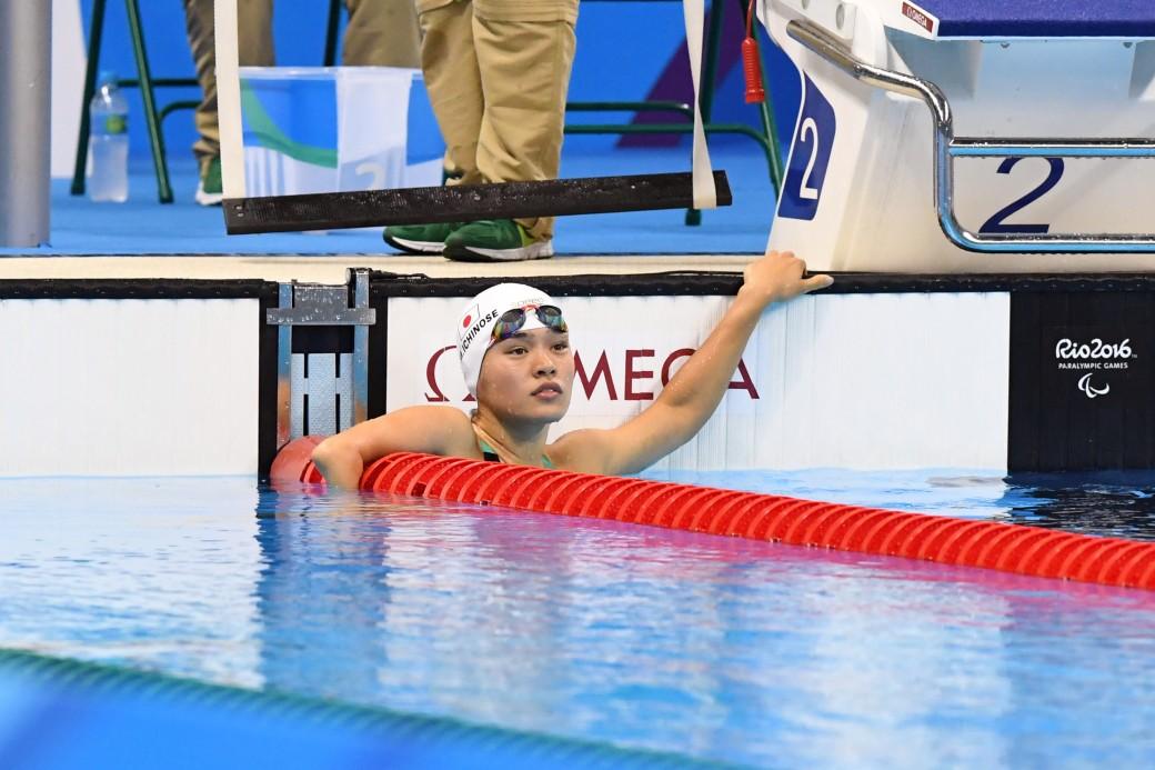 競泳9日目 予選を泳ぐ一ノ瀬メイ選手