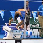 競泳9日目 予選を泳ぐ木村敬一選手