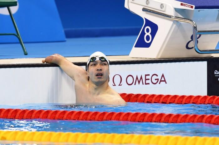 競泳:鈴木、リオでのレースが終了