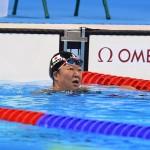 競泳10日目 予選を泳ぐ成田真由美選手