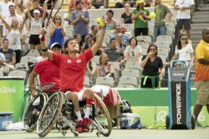 車いすテニス:国枝・斎田ペアがリオで初勝利、銅メダル!