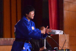 パラリンピック柔道女子48キロ級で世界を目指す半谷静香