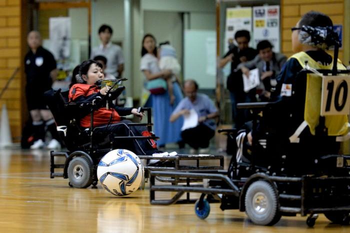 2015第19回電動車椅子サッカー関東大会で
