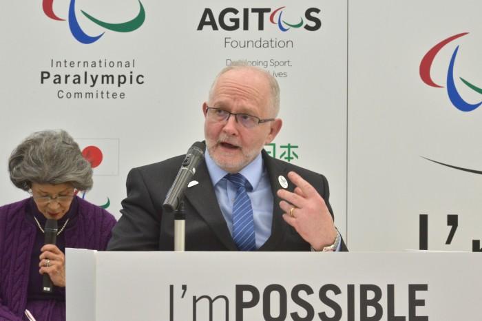 IPC(国際パラリンピック委員会)フィリップ・クレイヴァン会長