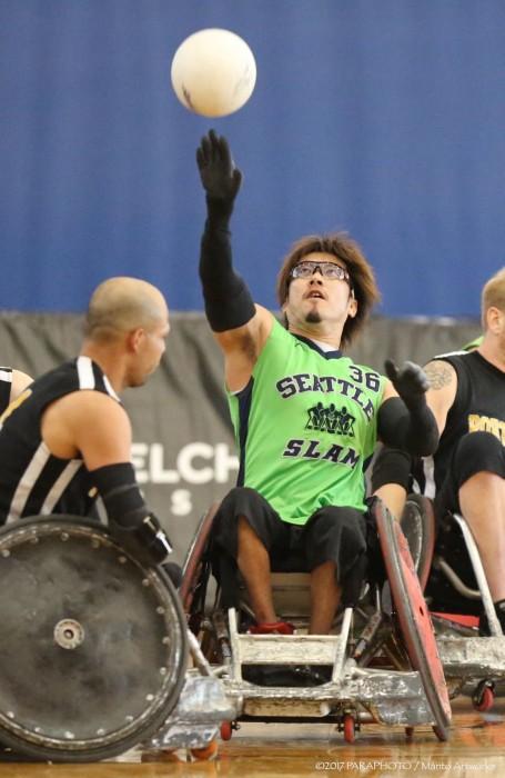 池崎大輔率いるシアトルチームは3位