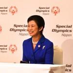 高円宮妃が応援の挨拶を贈られた