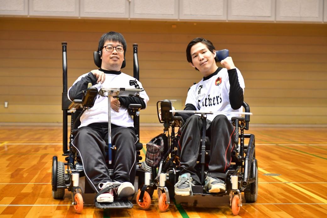 Yokohama Crackersからワールドカップ日本代表に選ばれた三上勇輝、竹田敦史