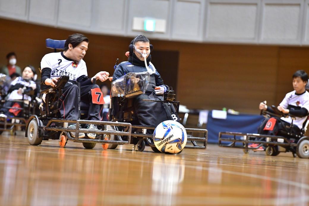 Yokohama Crackers 三上勇輝とレインボー・ソルジャー吉沢祐輔 ともに日本代表