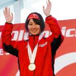 川本麻衣(かわもと まい)5km 1位、7.5km 1位、1km×4 リレー 4位 川本麻衣 ©︎ Special Olympics Nippon