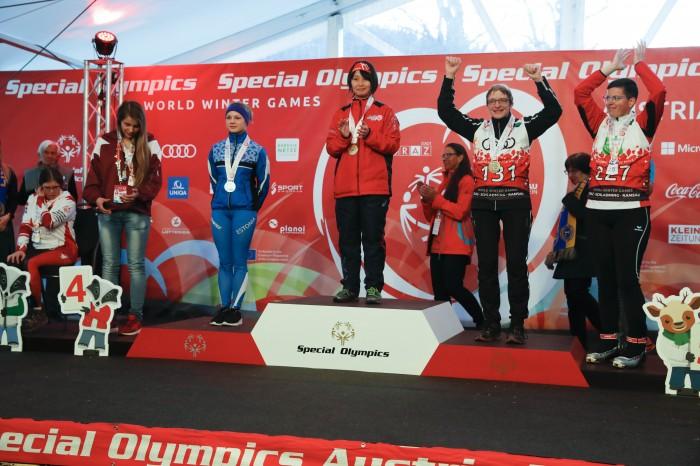 スペシャルオリンピックス世界大会でクロスカントリースキー日本チーム大活躍!