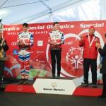 浜田翔 (はまだ かけるクロスカントリースキー10km 4位、5km 3位、1km×4 リレー 4位 ©︎ Special Olympics Nippon