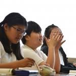 教室での公開授業