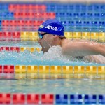 400メートル個人メドレーで世界記録を更新した津川拓也(ANAウィングフェローズ・ヴイ王子)の泳ぎ