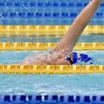 6月11日、400メートル個人メドレーで世界記録を更新した津川拓也(ANAウィングフェローズ・ヴイ王子)の泳ぎ