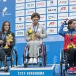 女子PTHC(車椅子)表彰式 写真・山下元気