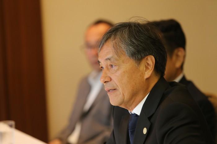 水野正幸氏/APC副会長(=日本障がい者スポーツ協会副会長) 写真・内田和稔