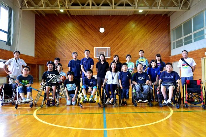 パラスポーツ体験は地元で行われているパラスポーツを体験した