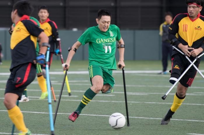 第1試合でAFCバンブルビー千葉・11番・福田柚稀(FP)