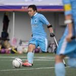 第7回 アンプティサッカー日本選手権・第2試合アフィーレ広島AFC VS FC九州バイラオール 結果:0 – 5 写真・矢野信夫