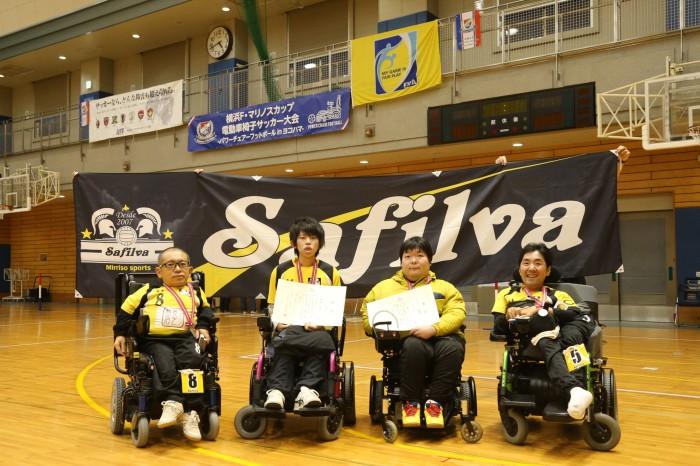 6kmに出場した北海道のチーム「Safilva」 (写真・内田和稔)