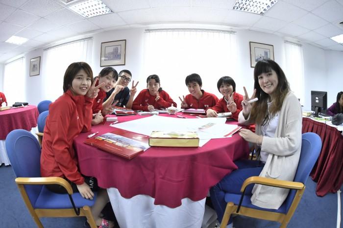 10月9日に行われたワークショップの様子 写真・山下元気
