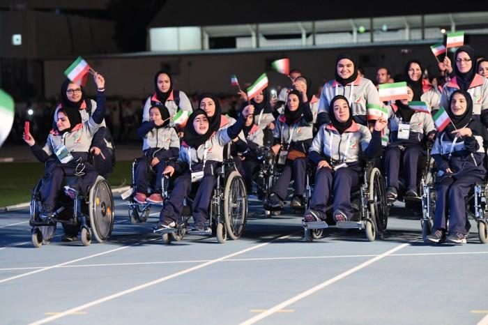 もっとも参加者数が多く、メダル総数では1位だったイラン (写真・山下元気)