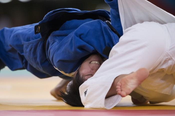展示写真より 撮影・安藤理智/柔道 2012ロンドン