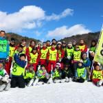 菅平高原で開催されたスキー教室 写真提供・シオヤレクリエーションクラブ