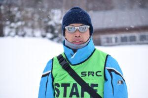 スキー教室を開催するシオヤレクリエーションクラブの塩家吹雪理事長