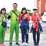 アジアユースパラ競技大会にパーソナル・コーチとして帯同した塩家氏(ドバイ2017年) 写真・山下元気