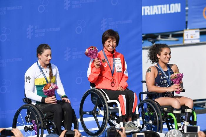 横浜大会2連覇。「天気が良くて気持ちよかった」と振り返った。 写真・矢野信夫