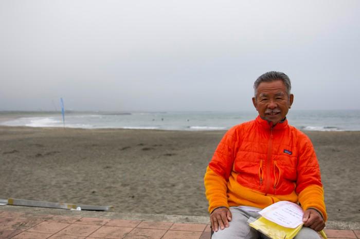 『アダプティブ・サーフィン』における阿出川代表理事の挑戦は続く (写真・吉田直人)
