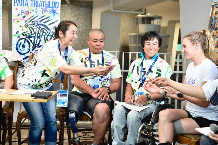 "For Immediate Release: Live Talk Show ""Paratra-TALK 2018"" + Documentary ""Who I Am"" Showing to promote Parasports in Yokohama"