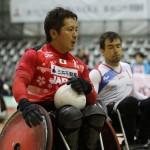 第3試合、日本ーフランスで島川慎一(3.0点)