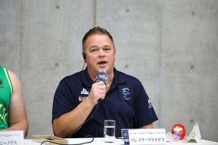 クレイグ・フライデイ(オーストラリア/ヘッドコーチ)