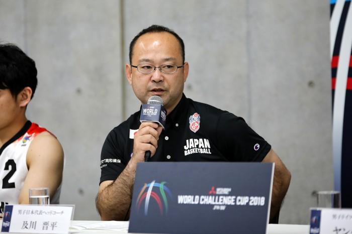 及川晋平(日本/ヘッドコーチ)