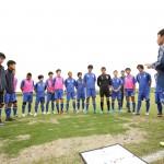 (左)知的障がい者サッカー日本代表(右)栃木SCユース