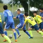 攻撃に参加する人数が増えてきた日本代表。