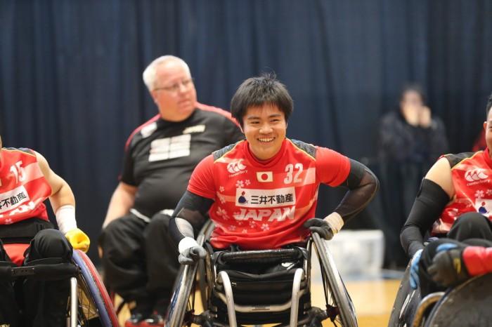 カナダカップ3日目、スウェーデン戦に初出場した、最年少の橋本勝也(3.5点)このあとデンマーク戦にも出場した