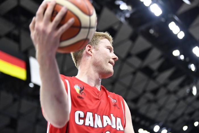 カナダチームに復帰した、パット・アンダーソン。この大会でチームの力を最大限引き出したいところ 写真・山下元気