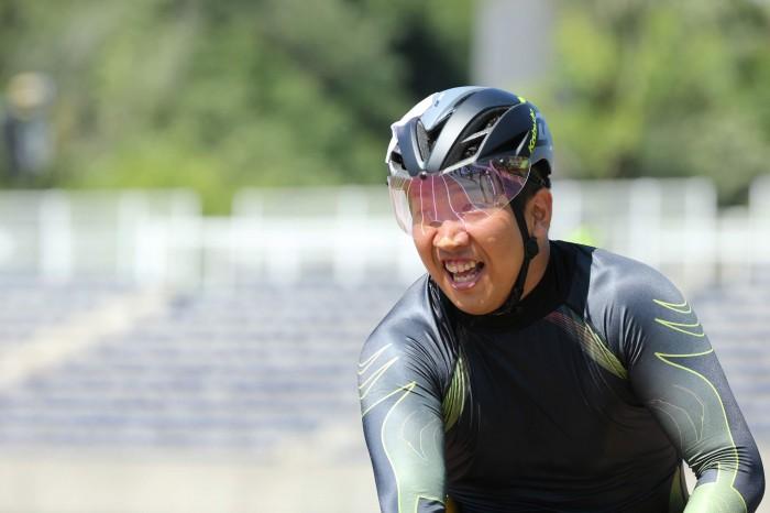 譲れぬプライドを旨に、勝ち続けることを誓う佐藤友祈 写真・内田和稔
