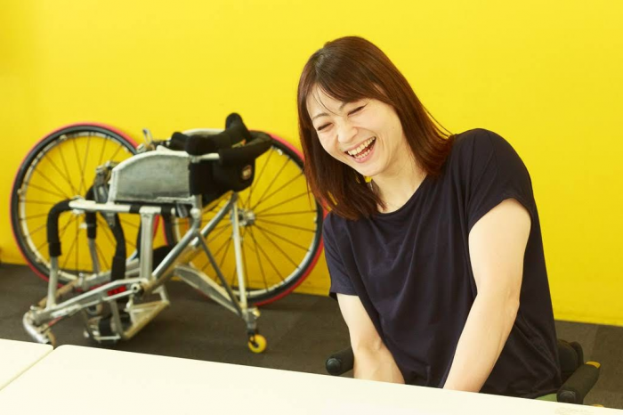"""""""いきがい""""である車いすバスケの魅力を語る土田真由美"""