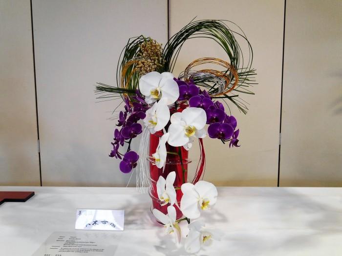 日本文化の一端を伝える生け花