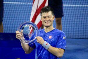 国枝「宿題もらった」。テニス全米オープン車いすの部で準優勝。