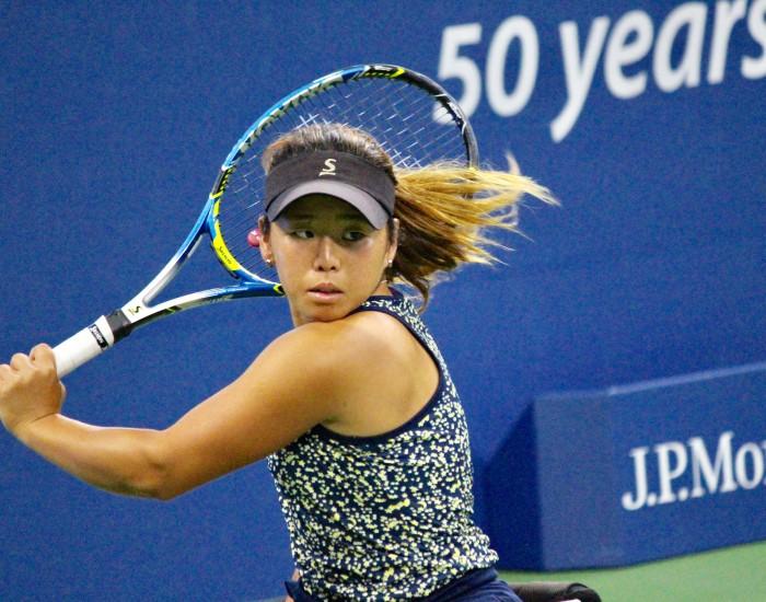 今シーズンは全仏オープンでシングルス優勝を果たした上地。今後が期待される。