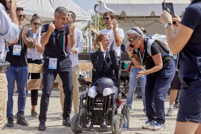 FEI World Equestrian Games™ Tryon USA Para-Dressage Grade 1 Sara Morganti ITA  (Photo FEI/Liz Gregg)