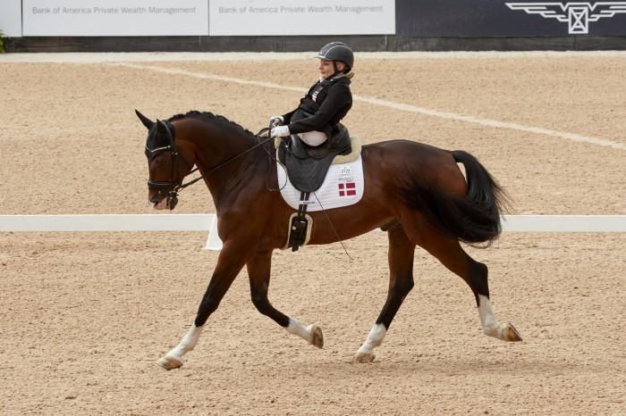Stinna Tange Kaastrup on Horsebo Smarties DEN (Photo FEI/Liz Gregg)
